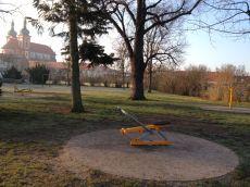 Dětské hřiště v Brandýse nad Labem