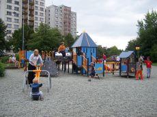 Dětské hřiště v Orlové
