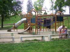 Dětské prolézačky v Chebu
