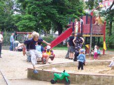 Dětské houpačky Stromovka