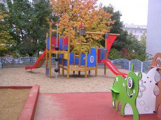 nové dětské hřiště v Praze