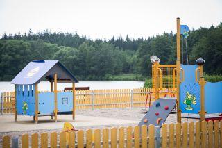 dětské hřiště ve Svitavách